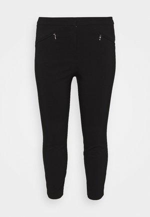WORKWEAR SLIM TROUSER - Trousers - black
