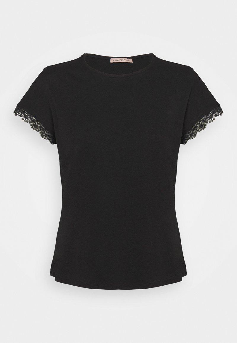 Anna Field Petite - T-shirt con stampa - black