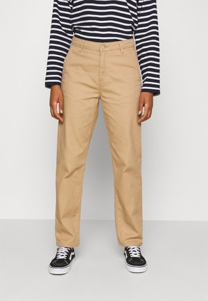 PIERCE PANT - Bukse - tan
