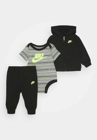 Nike Sportswear - STRIPE PANT SET - Body - black - 0