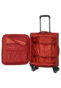 Travelite - 4 PCS - Wheeled suitcase - red - 4