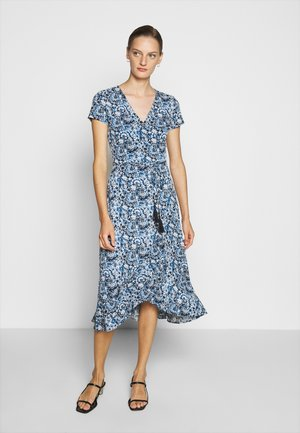 MATTE - Day dress - blue multi