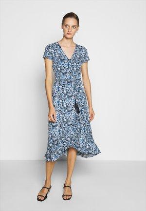 MATTE - Denní šaty - blue multi