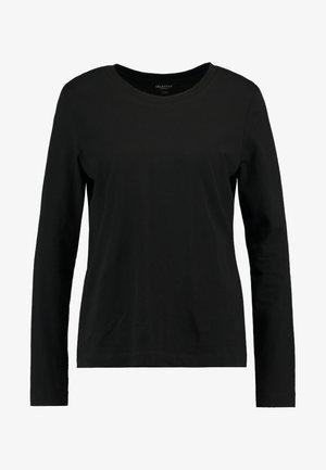 SLFSTANDARD TEE - Langarmshirt - black