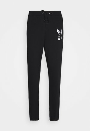 HARRIS UNISEX - Tracksuit bottoms - black