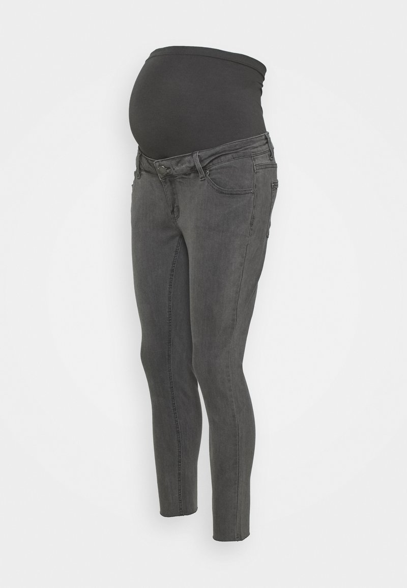 Forever Fit - ANKLE GRAZER - Jeans Skinny Fit - grey