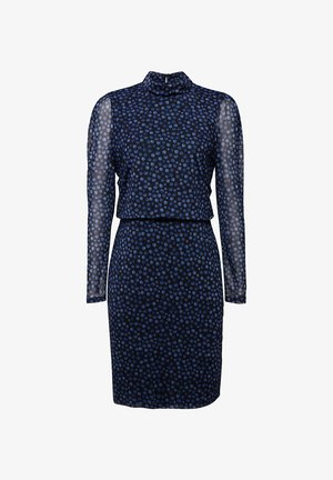 Shift dress - navy