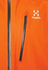 Haglöfs - JACKET MEN - Hardshell jacket - flame orange - 2