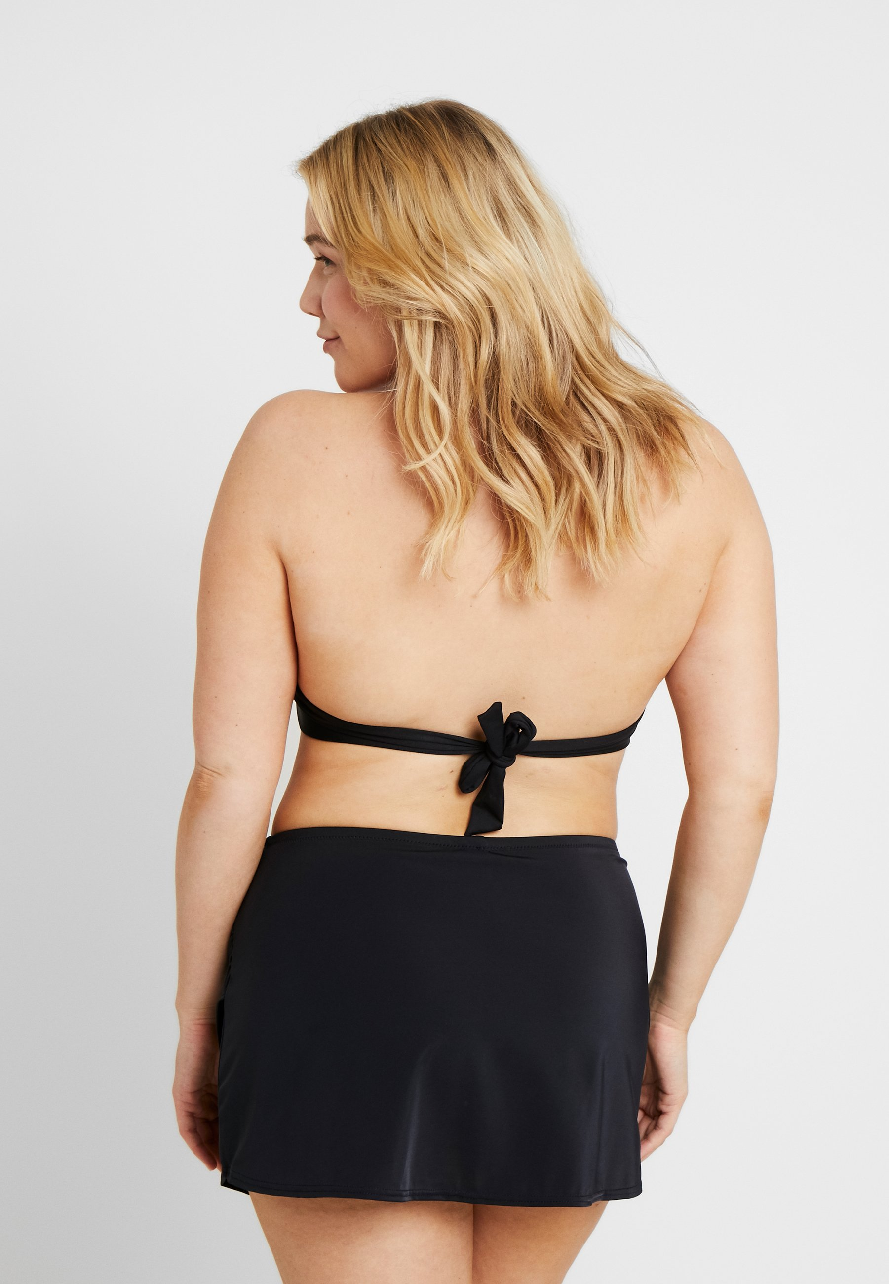 Women ESSENTIALS WRAP SKIRTED BRIEF - Bikini bottoms