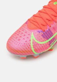 Nike Performance - MERCURIAL 8 PRO FG - Moulded stud football boots - bright crimson/metallic silver - 5