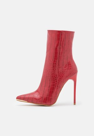 SHIMA - Støvletter - burgundy