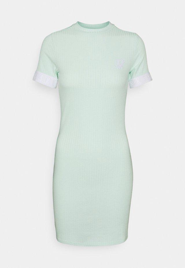MINT DRESS - Sukienka dzianinowa - mint