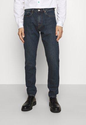 Zúžené džíny - dark-blue denim