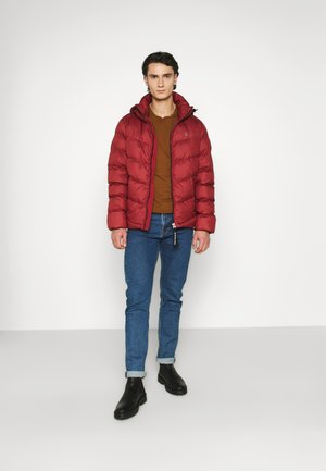 WHISTLER PUFFER - Winter jacket - dry red