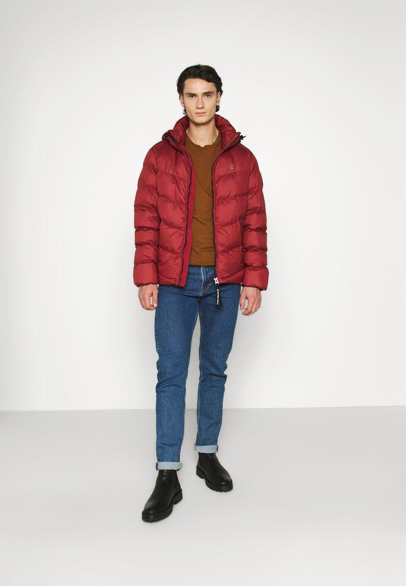 G-Star - WHISTLER PUFFER - Winter jacket - dry red