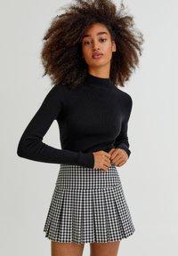 PULL&BEAR - Pullover - black - 0