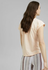 edc by Esprit - BACKTIE - Basic T-shirt - nude - 2