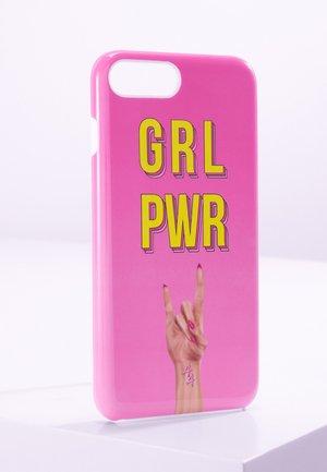 iPhone 6/7/8 PLUS - Mobiltasker - pink/yellow