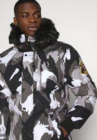 Alessandro Zavetti - OSHAWA PADDED PARKA - Winter coat - camo - 4