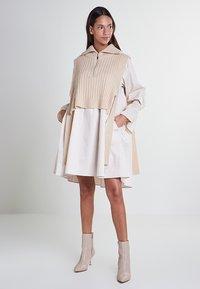 Mykke Hofmann - Day dress - beige - 0