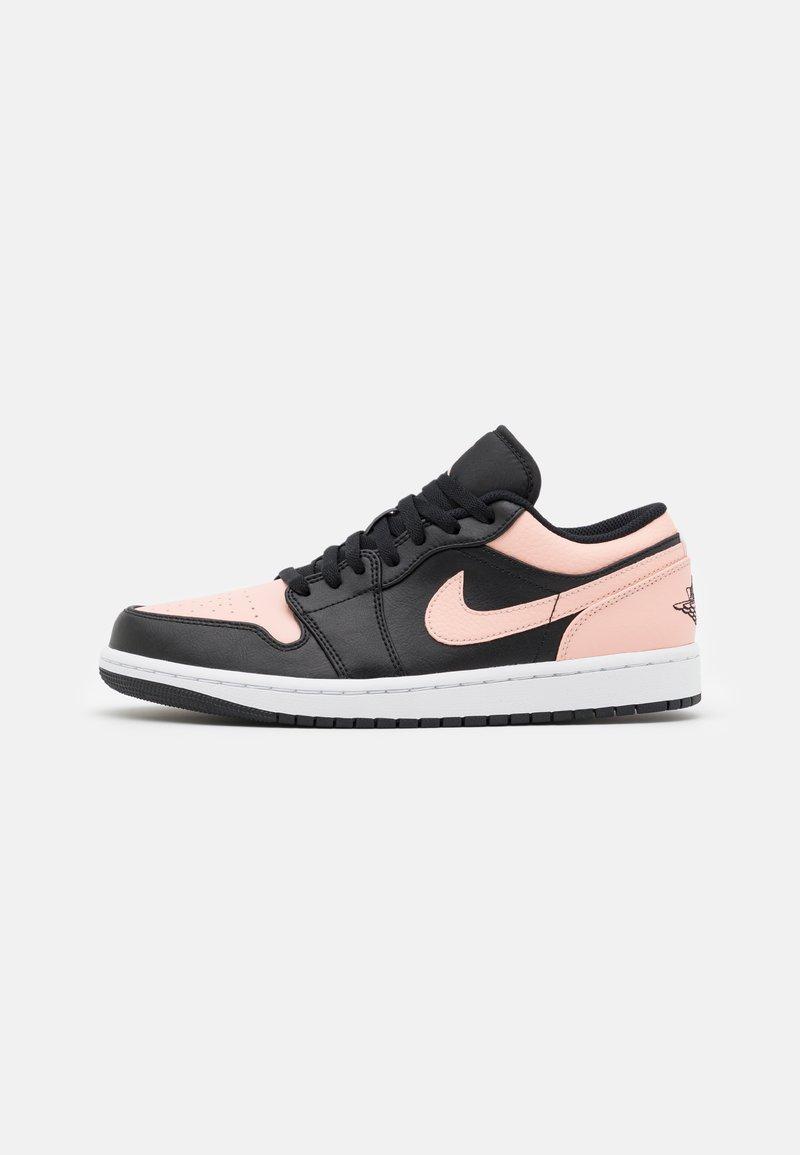 Jordan - AIR 1 - Sneakers basse - black/arctic orange/white