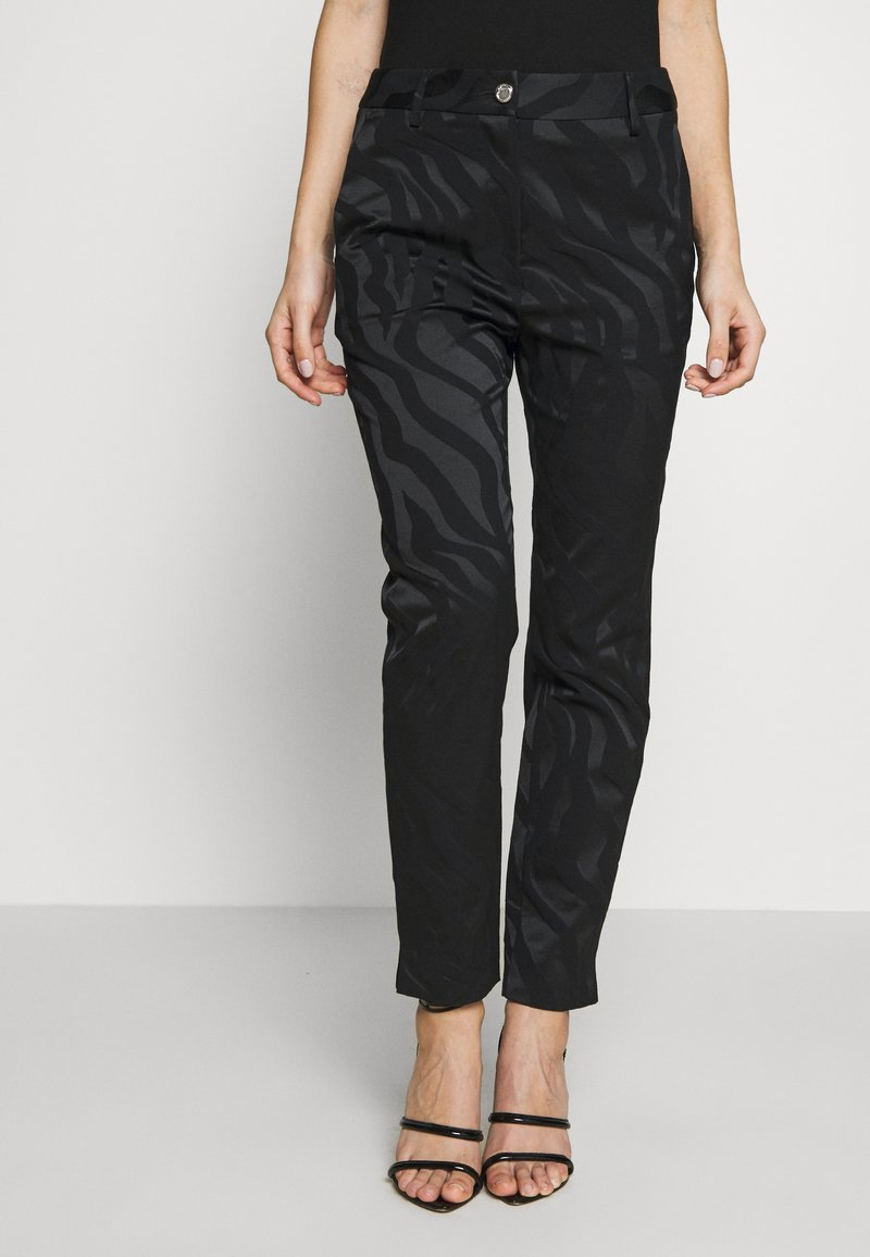 Just Cavalli - Trousers - black