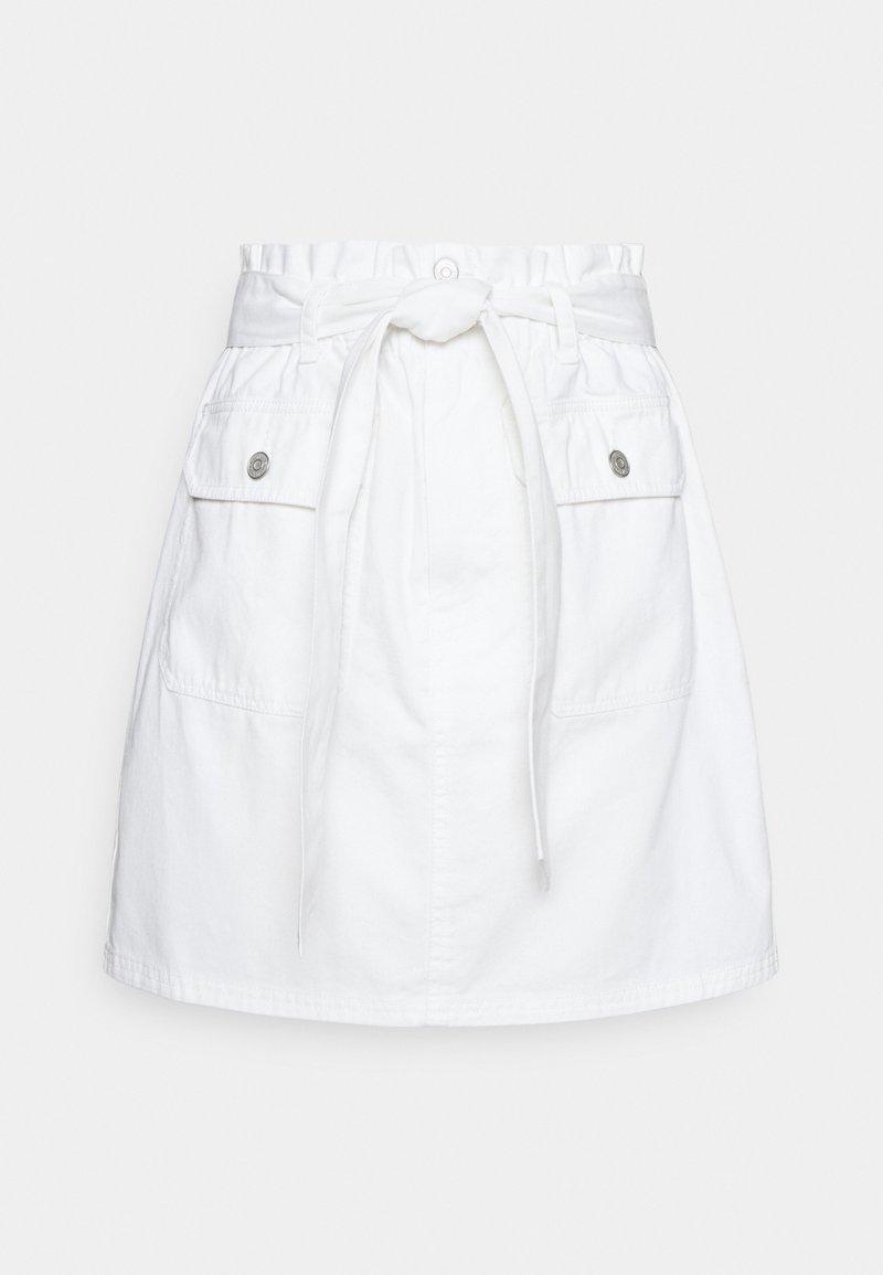 Tommy Jeans - Jupe trapèze - white
