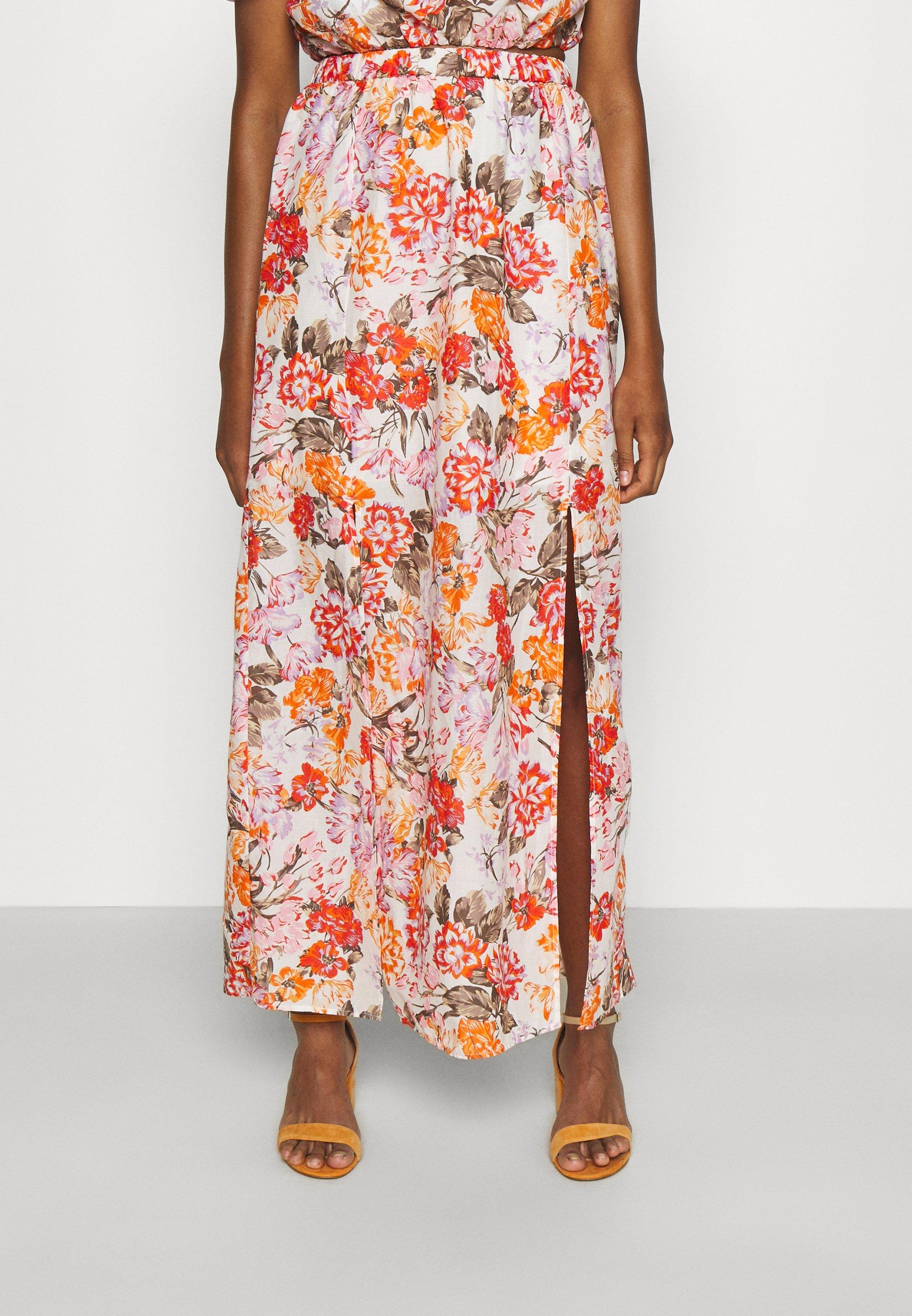 Femme Jupe longue - orange