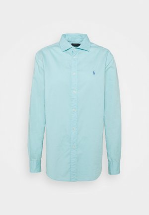 RELAXED LONG SLEEVE BUTTON FRONT SHIRT - Skjorte - turquoise cloud