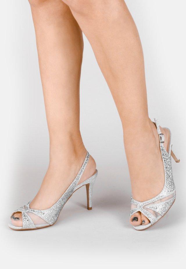LIBRA  - Sandalen met hoge hak - silver