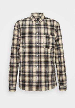 CHECKED  - Shirt - navy