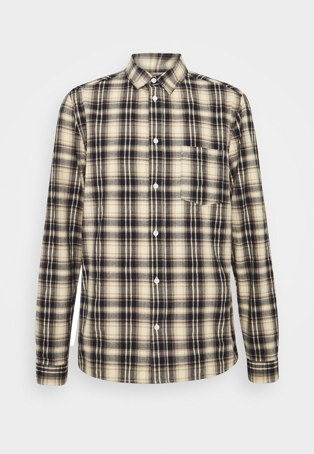 CHECKED  - Shirt - navy