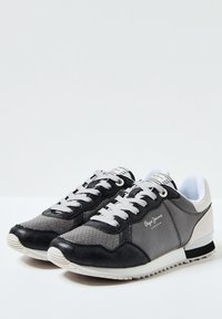 Pepe Jeans - ARCHIE NOON - Šněrovací boty - chrom - 2