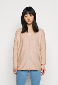 Wallis Petite - V NECK JUMPER - Pullover - blush - 0