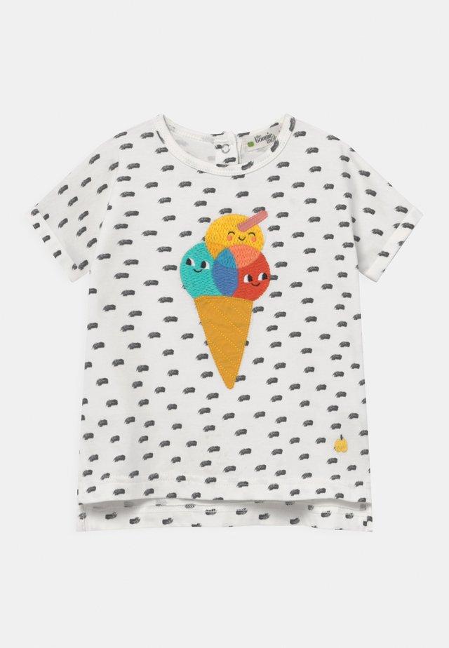 DAVID UNISEX - T-shirts med print - white