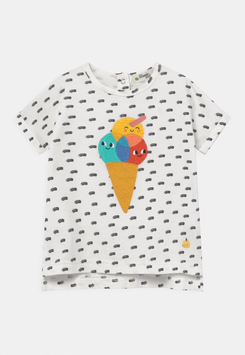 The Bonnie Mob - DAVID UNISEX - Print T-shirt - white