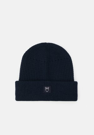 LEAF BEANIE UNISEX - Lue - total eclipse