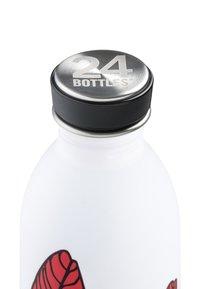 24Bottles - TRINKFLASCHE URBAN BOTTLE FLORAL - Other accessories - weiß - 2