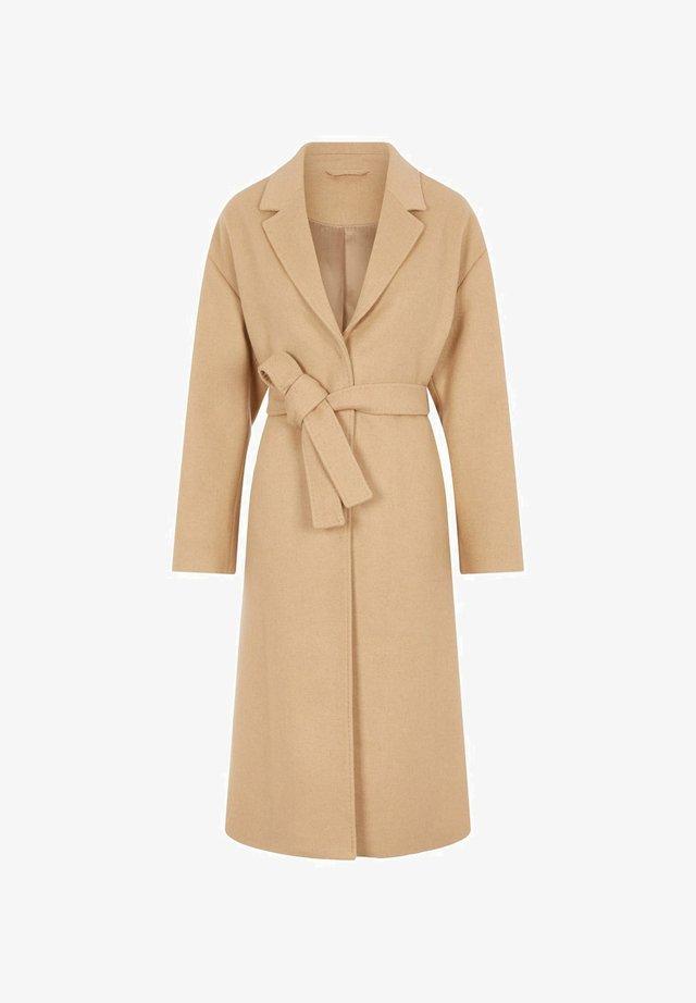 Classic coat - sand beige