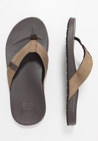 Reef - CUSHION BOUNCE PHANTOM - T-bar sandals - brown/tan - 1