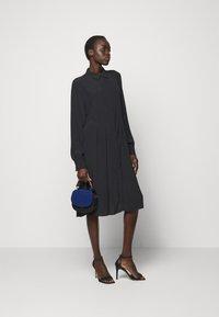 Bruuns Bazaar - LILLI VALENTINA  - Shirt dress - black - 1
