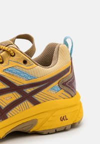 ASICS SportStyle - HN1-S GEL-VENTURE™ 7 - Trainers - yellow/ox brown - 8