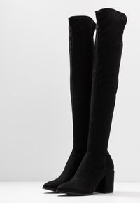 Steve Madden - JANEY - Over-the-knee boots - black - 4