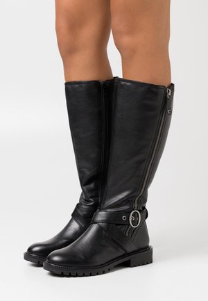WIDE FIT PINE - Boots - black