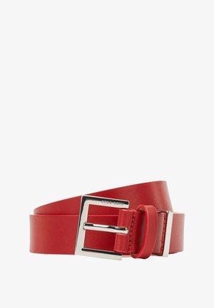 TAYLOR - Belt business - red