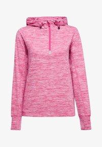 Esprit Sports - MIT E-DRY - Hoodie - pink fuchsia - 4