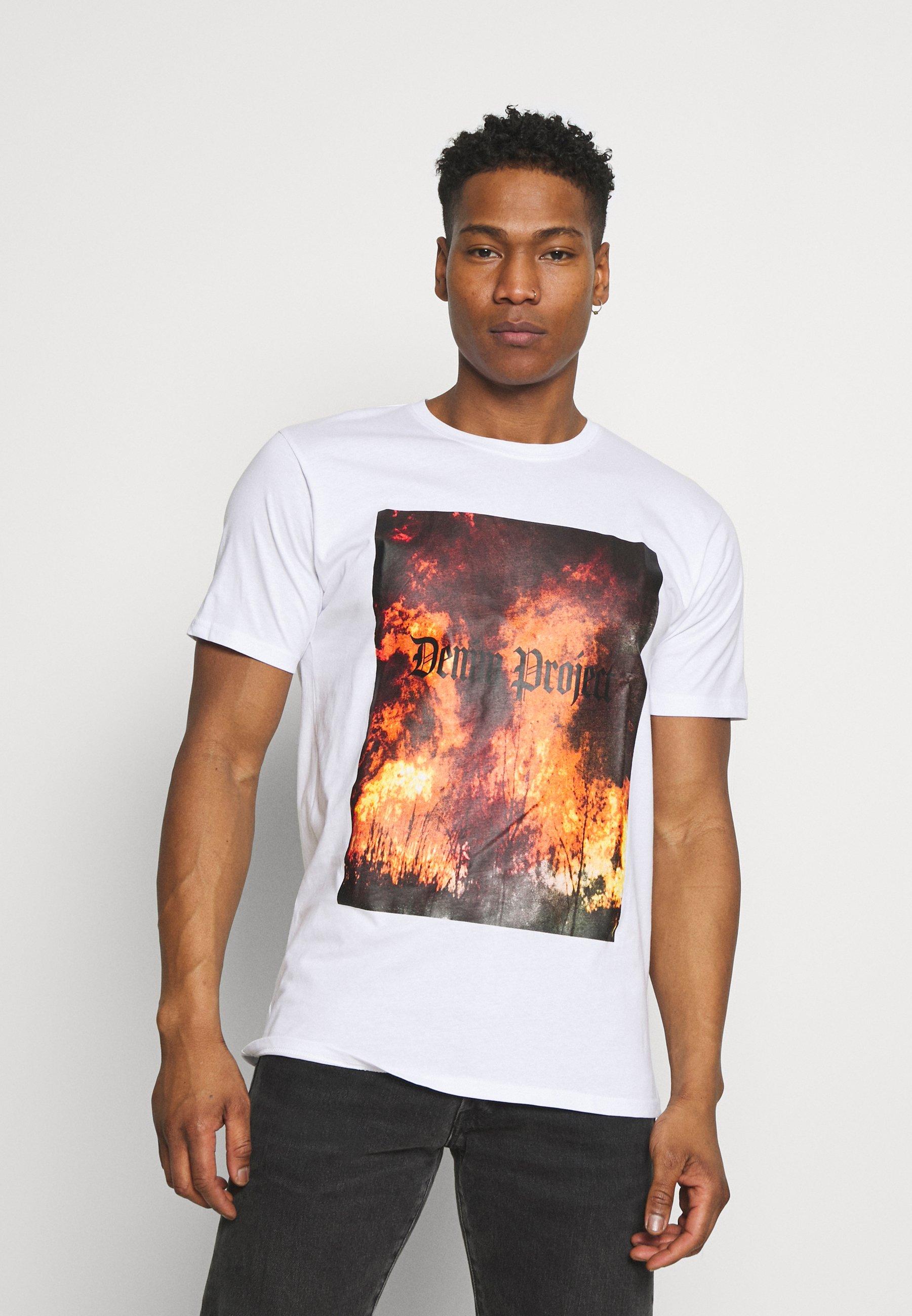 Men TREE TEE - Print T-shirt