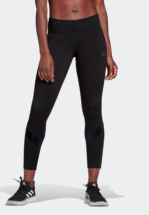OWN THE RUN WARM LEGGINGS - Tights - black