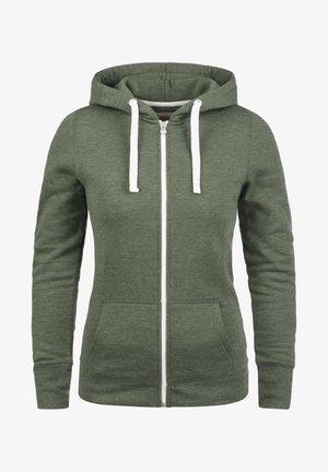 DERBY - Zip-up hoodie - climb ivy