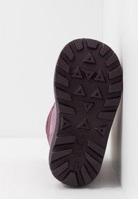 Viking - SNOWFALL BEAR - Winter boots - violet/pink - 5
